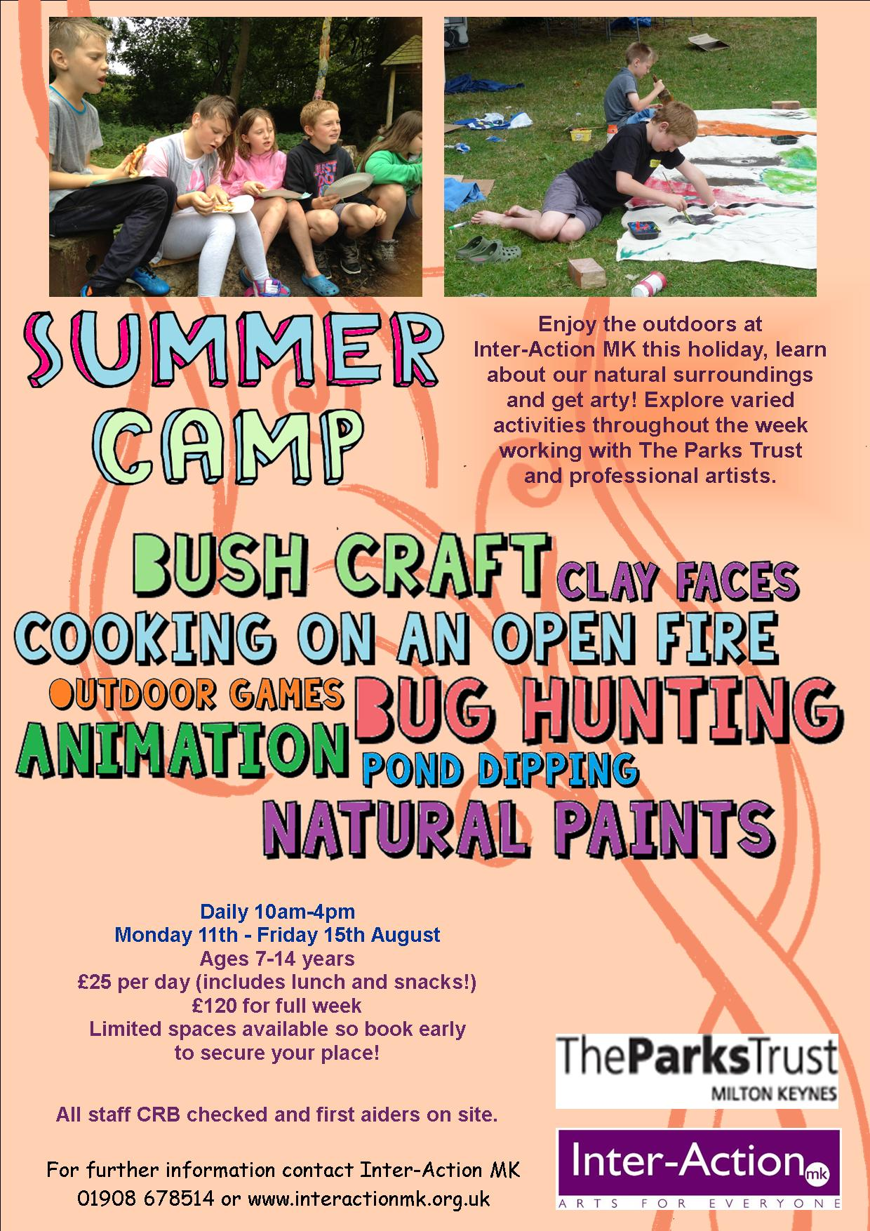 Summer Camp Flyer 2014
